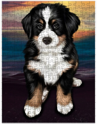 Bernese Mountain Dog Puzzle with  Tin (252 pc.) a414