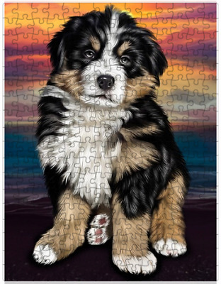 Bernese Mountain Dog Puzzle with  Tin (252 pc.) a415