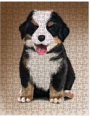 Bernese Mountain Spoiled Rotten Dog Puzzle with  Tin (252 pc.) a422