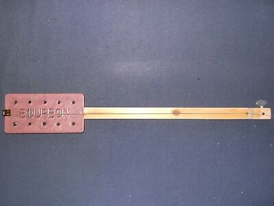 1 String Cigar Box Guitar style Diddley Bow Bass Canjo