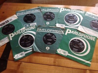 "The Beatles - Collection Of 8 Original 7"" Vinyl Singles"