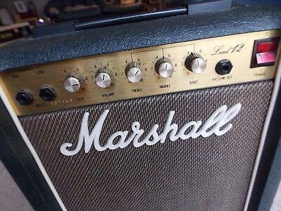 Marshall Lead 12 1980,s Amp V.g. Condition Never Been Used For Years Great Amp