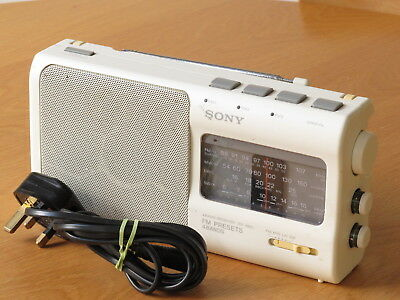Sony 4 Band Receiver Icf-880L Portable Am Fm Radio