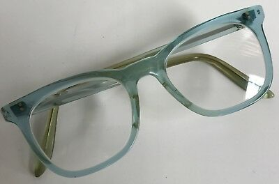 Blue NHS Glasses and Case -1970's