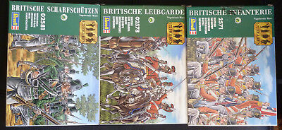 Revell 1:72 Napoleonic Wars Figures x3 Complete Sets