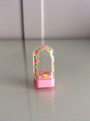 Vintage Polly Pocket Pink Pencil Topper RARE vgc