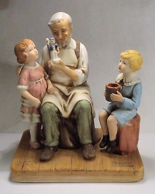 """""""The Toymaker"""" Figurine by Norman Rockwell - 1979 Norman Rockwell Museum, Inc."""