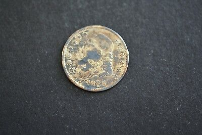 1832 Capped Bust 5 Cent Silver coin