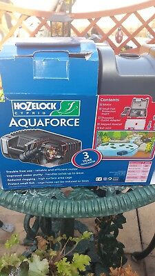 fish pond filter and waterfall pump max flow 4000lph Hozelock