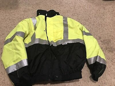 3 In 1 Bomber Jacket Safety Occulux Class 3 Size 5XL