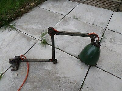 Vintage Machinist Lamp Anglepoise Type