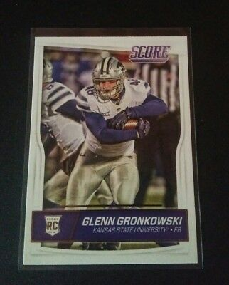 Glenn Gronkowski Patriots RC Rookie #360 Panini Score 2016 Card NFL Football