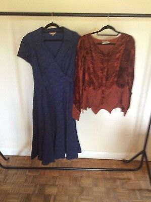 Job Lot.  Boutique Dress & Top. Size. 14