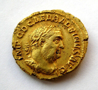 300 A.D Roman Period Gold Coin - Metal detecting find from Brixham in Devon