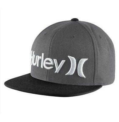 check out b3b71 64bf6 ... discount code for hurley one and only snapback hat youth boys black  gray cap surf skate
