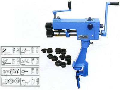 19 BENCH SWAGER ROTARY METAL TOOL JENNY BEAD ROLLER outil Werkzeug