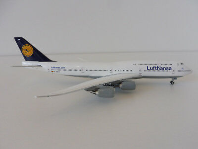 LUFTHANSA Boeing 747-8 1/400 Phoenix Models 747 Intercontinental