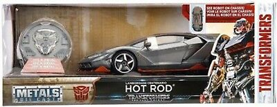 Jada 1 24 Transformers 5 Hot Rod Lamborghini Centenario Lp770