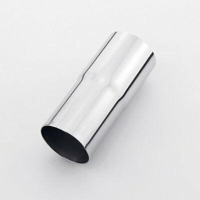 """2"""" ID to 2.25"""" 2 1/4"""" OD 304 Stainless Steel Exhaust Pipe Adapter Reducer"""