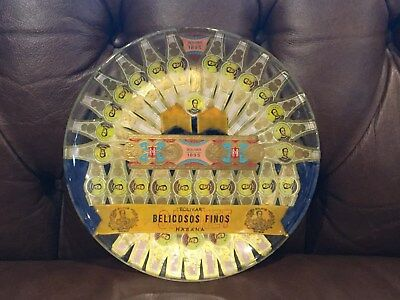 Bolivar (Cuba) Bellicosos Finos- Handcrafted Cigar Plate with Authentic labels