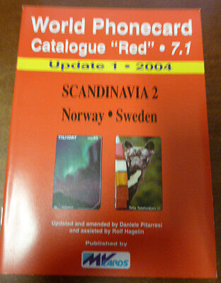 Telecarte Phonecard Catalogue Scandinavia 2 Norway & Sweden 2004 32 Pages