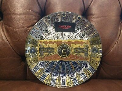 Camacho- Handcrafted Cigar Plate with Authentic labels