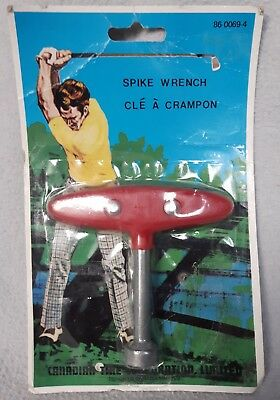Vintage Spike Wrench for spikes in original packaging Golf Canadian Tire