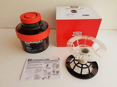 JOBO TANK 2520 WITH REEL for 4X5 5X4 Large Format Film Camera NEW!!!