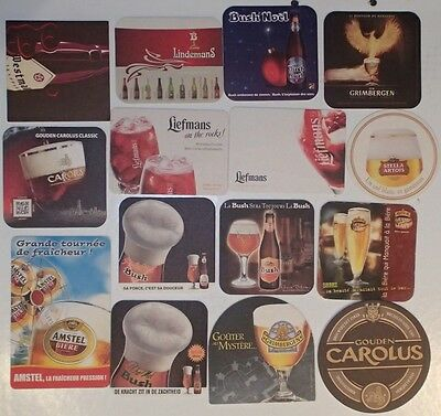 (Lot 08) 15 Sous-bocks - Bierdeckel - Coaster