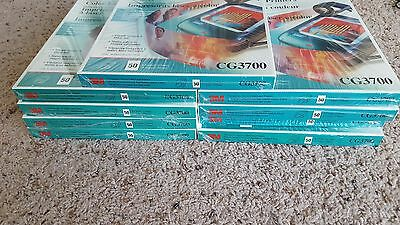 Lot of 9 50 Pack (450 Total) 3M CG3700 Color Laser Printer Clear Transparencies