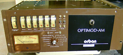 Orban Optimod-Am 9100A/1 Broadcast Audio Processor, Equalizer, Compressor