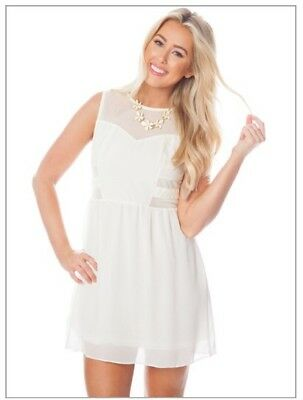 Wholesale Womens Cream Colored DRESSES (6 Pack)