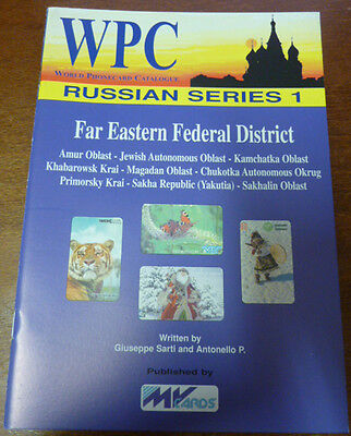 Telecarte Phonecard Catalogue Russian 1 Far Eastern Federal District 48 Pages