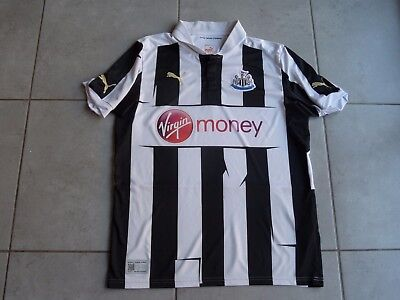 NEWCASTLE UNITED Maillot football Officiel T.adulte M Magpies Puma shirt