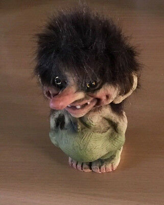 Ny Form Troll Original Hand Made In Norway No 118 Trygve Torgersen
