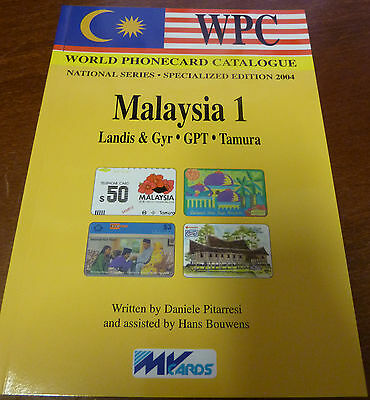 Telecarte Phonecard Catalogue Malaysie 1 Parution 2004 Avec 79 Pages