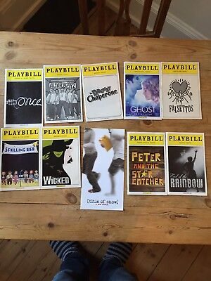 10 Broadway and Off-Broadway Playbills