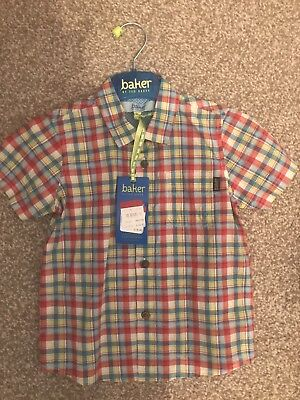 Boys Ted Baker Shirt BNWT 2-3