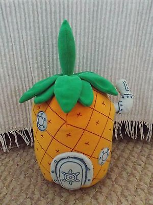 Spongebob squarepants pinapple plush toy Beanie Buddies home / house soft toy TY