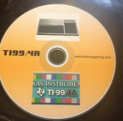 Texas Instruments TI99/4a Emulator For PC's With 800+ Freeware Games