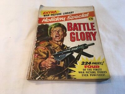 1963 WAR Picture Library HOLIDAY SPECIAL Battle Glory 4 stories. 224 pages.