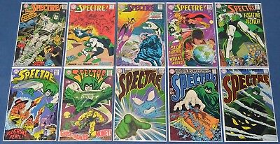 The Spectre Vol. 1 (1967) #1,2,3,4,5,6,7,8,9,10~Complete~Neal Adams~VG to VG/FN