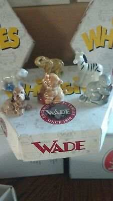 WADE WHIMSIES box of 6whimsie animals new.