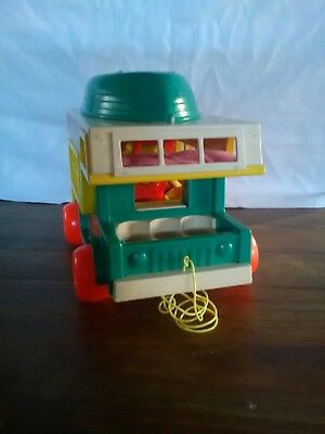 FISHER PRICE 1970s PLAY FAMILY CAMPER