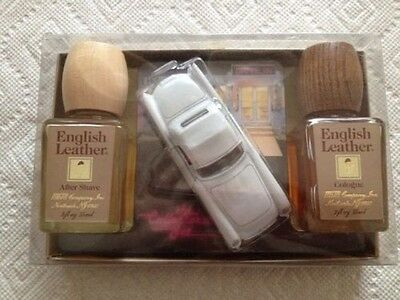 Vintage English Leather Collectors's Edition with Cologne, After Shave and Thund