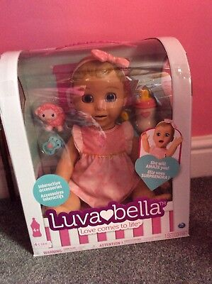 lovabella intractive doll