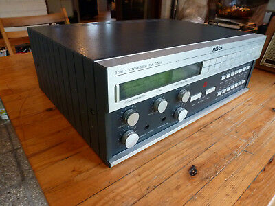 Nice & perfectly working reVox tuner B261 with extra pair rack handle mounting