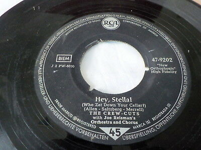 """7"""" *Rock'n'Roll* THE CREW CUTS - Baby Be Mine *rare Germany"""
