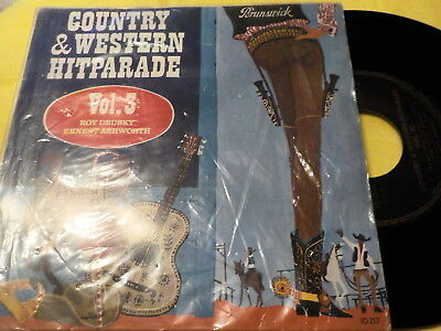 "7""EP - *Country* ROY DRUSKY & ERNEST ASHWORTH - Country & Western Hitparade"