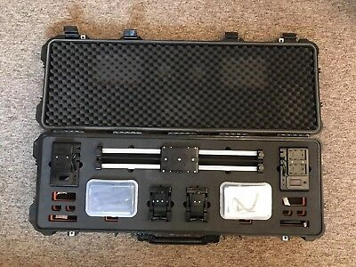 Edelkrone SliderPlus Pro XLarge with target + action module in custom case
